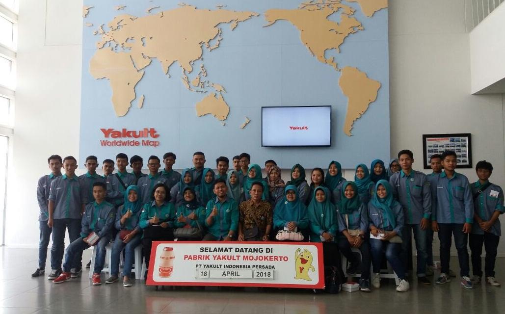 fild trip mahasiswa univet ke Yakult
