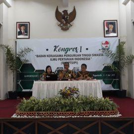 Kongres I Badan Kerjasama PTS Ilmu Pertanian Indonesia