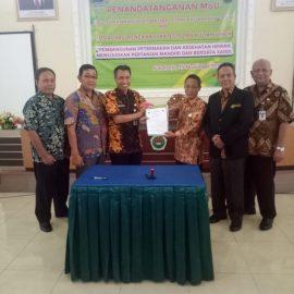 Lebarkan sayap, FP Univet tandatangani MoU dengan Dinas Peternakan dan Kesehatan Hewan Provinsi Jawa Tengah