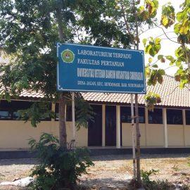 Fakultas Pertanian kenalkan Lab. Pertanian Terpadu di Jagan